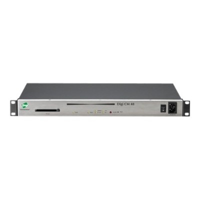 Digi 70001949 CM 48 Console server 48 ports 10Mb LAN 100Mb LAN RS 232 1U
