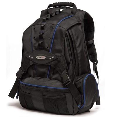 Mobile Edge MEBPP3 Premium Backpack - Black with Navy Trim