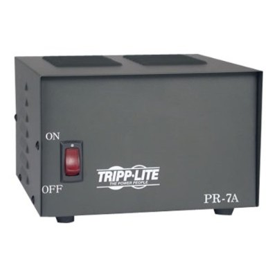 TrippLite PR7 7-Amp DC Power Supply  13.8VDC  Precision Regulated AC-to-DC Conversion