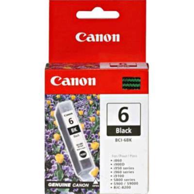 Canon 4705A003 BCI-6 Black BJ Ink Tank