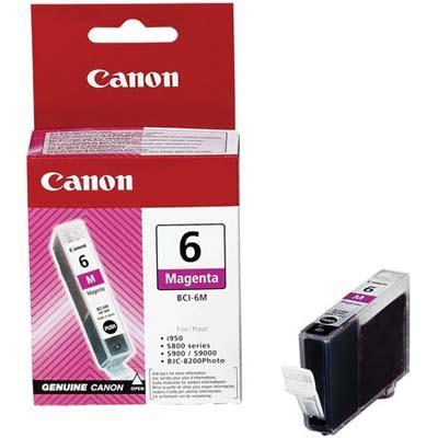 Canon 4707A003 BCI-6M - Magenta - original - ink tank - for i96X  990  99XX  PIXMA IP3000  IP4000  iP5000  iP6000  iP8500  MP750  MP760  MP780  S830