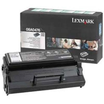 Lexmark 08A0476 Black Return Program Print Cartridge for E320/E322