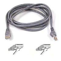 Belkin 100 ft. High Performance Category 6 Snagless Patch Cable, Gray