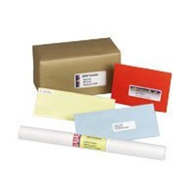 Avery Dennison 8665 Address labels - white - 25 pcs. 1 )