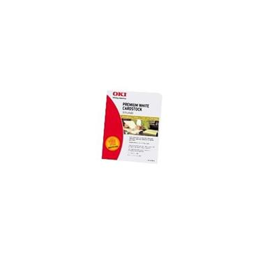 Oki 52205603 Premium Card Stock - 110 lb. Index 8.5 x 11 ( 250 Sheets )