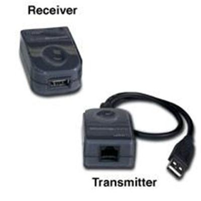 Cables To Go 29341 USB 1.1 Over Cat5 Superbooster Extender Dongle Kit