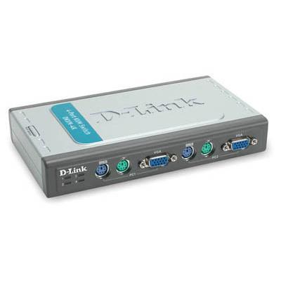 D-Link DKVM-4K 4-Port KVM Switch