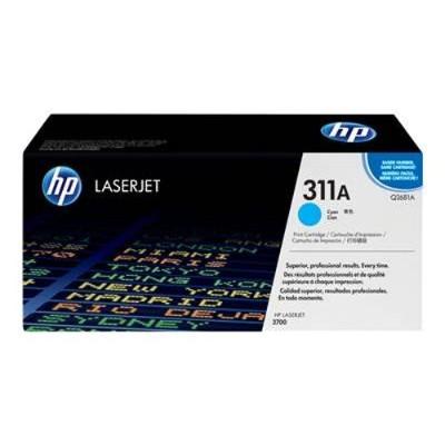 Color LaserJet Q2681A Cyan Print Cartridge