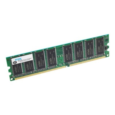 Edge Memory PE196066 1GB PC2700 333MHz 184-pin Non-ECC Unbuffered DDR SDRAM DIMM