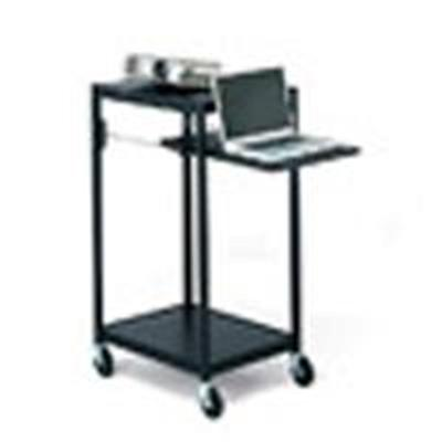 Bretford Manufacturing Ecils2-bk Interactive Learning Center Ecils2-bk - Cart For Projector ( Rack ) - Steel - Black - Floor-standing