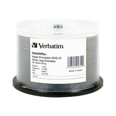 Verbatim 94812 4.7 GB 8x DVD+R (50 pack)