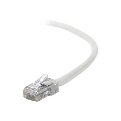 Belkin A3L791-10-WHT Patch cable - RJ-45 (M) to RJ-45 (M) - 10 ft - CAT 5e - white - B2B - for Omniview SMB 1x16  SMB 1x8  OmniView IP 5000HQ  OmniView SMB CAT5