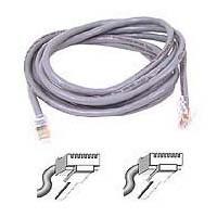 Belkin A3L791-75 Patch cable - RJ-45 (M) to RJ-45 (M) - 75 ft - UTP - CAT 5e - gray - for Omniview SMB 1x16  SMB 1x8  OmniView SMB CAT5 KVM Switch