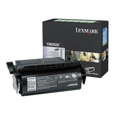 Lexmark 1382920 Black Return Program Print Cartridge for Optra S