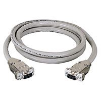 Black Box EDN12H-0010-FF DB9 Extension Cable (with EMI/RFI Hoods)  - 10-ft. (3.0-m) Female/Female
