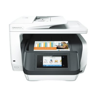 HP Inc. D9L20A Officejet Pro 8730 All-in-One - Multifunction printer - color - ink-jet - Legal (8.5 in x 14 in) (original) - A4/Legal (media) - up to 37 ppm (co