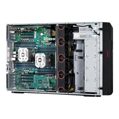 Lenovo 70DG006NUX ThinkServer TD350 70DG - Server - tower - 4U - 2-way - 1 x Xeon E5-2603V4 / 1.7 GHz - RAM 16 GB - SATA - hot-swap 3.5 - no HDD - AST2400 - Gig