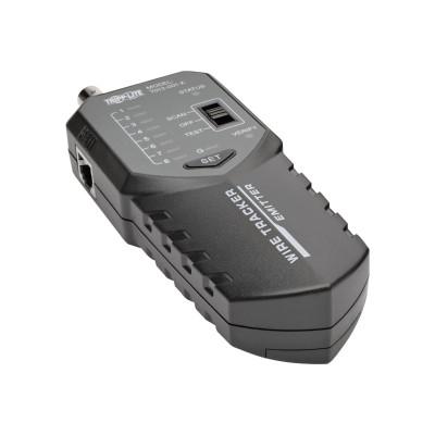 TrippLite T012-001-K Cable Tester Wire Tracker Tone Generator RJ45 RJ11 BNC w LED - Network tester kit