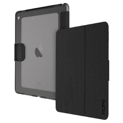 Incipio IPD-324-BLK Clarion Shock Absorbing Translucent Folio for iPad Pro 9.7 - Black