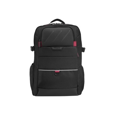 Targus ONB523US-01 Gamer - Notebook carrying backpack - 15.6 - black silver red - for Dell Inspiron 15 7548 15 7557 15 7558 7537