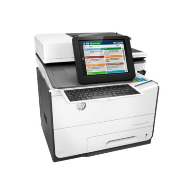 HP Inc. G1W41A#BGJ PageWide Enterprise Color Flow MFP 586z - Multifunction printer - color - page wide array - 8.5 in x 14 in (original) - A4/Legal (media) - up