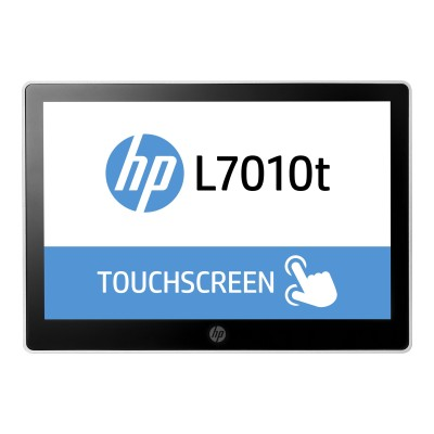 HP Inc. T6N30AA#ABA L7010t Retail Touch Monitor - LED monitor - 10.1 - touchscreen - 1280 x 800 - ADS-IPS - 220 cd/m² - 800:1 - 30 ms - DisplayPort -  black  as