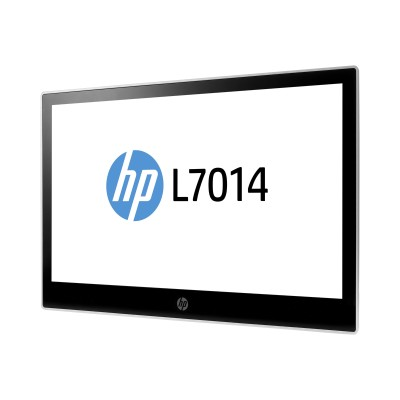 HP Inc. T6N31A8#ABA L7014 Retail Monitor - Head Only - LED monitor - 14 - 1366 x 768 - TN - 200 cd/m² - 500:1 - 16 ms - DisplayPort -  black  asteroid - promo