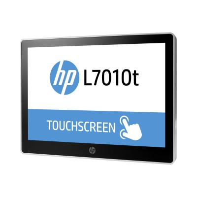 HP Inc. T6N32A8#ABA L7014t Retail Touch Monitor - LED monitor with KVM switch - 14 (14 viewable) - touchscreen - 1366 x 768 - TN - 200 cd/m² - 350:1 - 16 ms - D