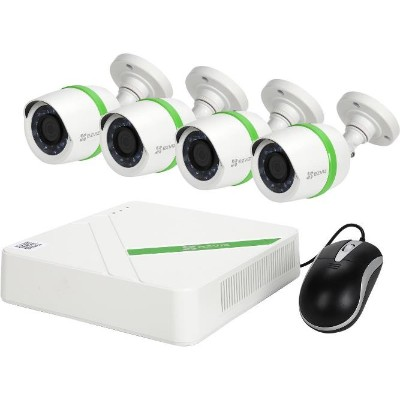 EZVIZ BD-1424B1 4-Channel 1080p Analog System with 1TB Hard Drive & 4 Weatherproof 1080p Bullet Cameras