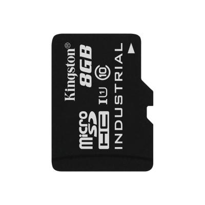 Kingston Digital SDCIT/8GBSP 8GB MICROSDHC UHS-I INDUSTRIAL TEMP CARD SINGLE PACK W/O ADAPTER