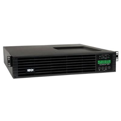 TrippLite SU2200RTXLCDN UPS Smart Online 2200VA 1800W Rackmount 120V LCD USB DB9 Preinstalled SNMPWEBCARD 2URM - UPS (rack-mountable) - 16 A - AC 100/110/115/12