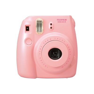 Fujifilm 16273415 BNDL Instax Mini 8 - Instant camera - lens: 60 mm - pink