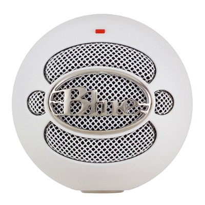 Blue Microphones SNOWBALL-TEXTRDWHITE Snowball USB Microphone - Textured White