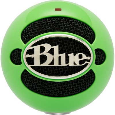 Blue Microphones 3022 Snowball USB Microphone - Neon Green