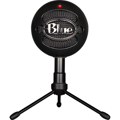 Blue Microphones 1929 Snowball iCE USB Microphone with HD Audio - Black Ice