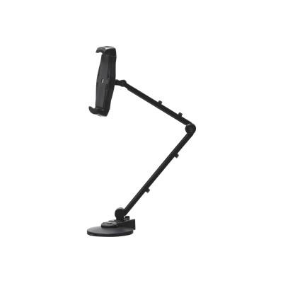 SIIG CE-MT1Y12-S1 Full Motion Easy-Adjust Universal Tablet Mount - Desk mount for tablet - black - screen size: 7-12