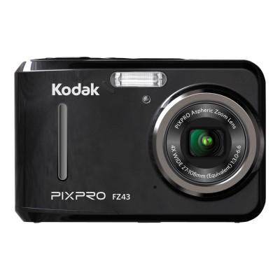 Kodak FZ43-RD PIXPRO Friendly Zoom FZ43 - Digital camera - compact - 16.15 MP - 720p - 4x optical zoom - red
