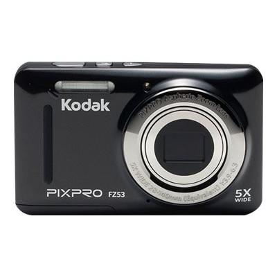 Kodak FZ53-BK PIXPRO Friendly Zoom FZ53 - Digital camera - compact - 16.15 MP - 720p / 30 fps - 5x optical zoom - black