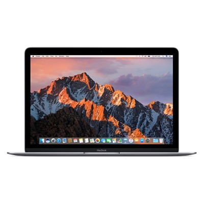 Apple Z0SK-1.3-8-256-SGRY MacBook 12 Intel HD Graphics 515  1.3GHz Dual-Core Intel Core m7 processor  8GB RAM 256GB PCIe-based flash storage  Space Gray