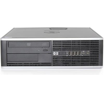 HP Inc. RB-729910987422 8200 Elite Intel Core i5-2400 Quad-Core 3.10GHz Small Form Factor Desktop - 8GB RAM  2TB HDD  DVD-ROM  Gigabit Ethernet - Refurbished