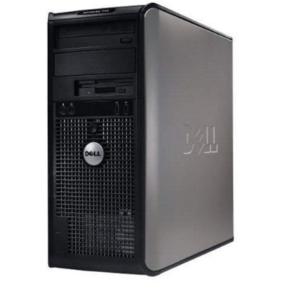 Dell RB-729910987507 OptiPlex 755 Intel Core 2 Duo 1.80GHz Mini Tower Desktop  - 4GB RAM  160GB HDD  DVD-ROM  Gigabit Ethernet - Refurbished
