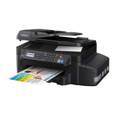 Epson C11CE71201 WorkForce ET-4550 EcoTank - Multifunction printer - color - ink-jet - 8.5 in x 14 in (original) - A4/Legal (media) - up to 11 ppm (copying) - u