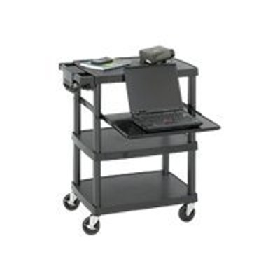 Safco Products Company 8929BL Multimedia Projector Cart  Black