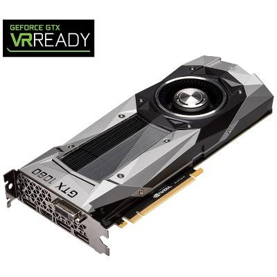 PNY VCGGTX10808PB-CG NVIDIA GeForce GTX 1080 Founders Edition 8GB GDDR5 PCIe Graphics Card