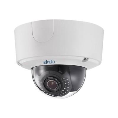 Panasonic A-64 Advidia A-64 - Network surveillance camera - dome - color (Day&Night) - 6 MP - 3072 x 2048 - motorized - audio - composite - GbE - H.264 - DC 12
