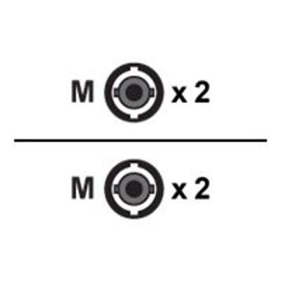 Axiom Memory AXG92729 Network cable - ST single-mode (M) to ST single-mode (M) - 16.4 ft - fiber optic - 9 / 125 micron - OS2 - riser - yellow