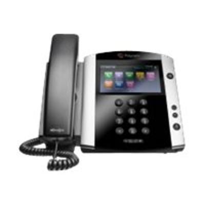 Polycom 2200-48600-025 VVX 601 - VoIP phone - H.323  SIP  RTCP  RTP  SRTP  SDP - 16 lines