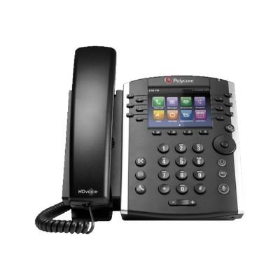 Polycom 2200-48400-001 VVX 401 - VoIP phone - SIP  RTCP  RTP  SRTP  SDP - 12 lines