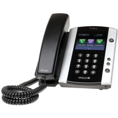 Polycom 2200-48500-019 VVX 501 - VoIP phone - SIP  RTCP  RTP  SRTP - 12 lines