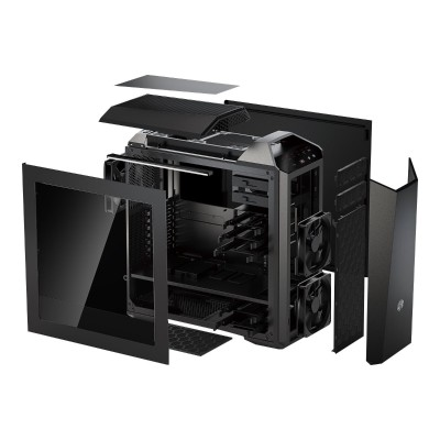Cooler Master MCZ-005M-KWN00 MasterCase Maker 5 - Mid tower - ATX (ATX / PS/2) - USB/Audio